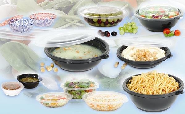 Opakowania z tworzyw sztucznych dla żywności
