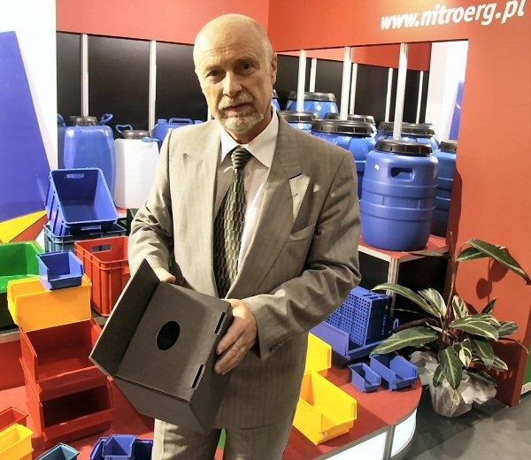 Zbigniew Sitarek, dyrektor Nitroerg