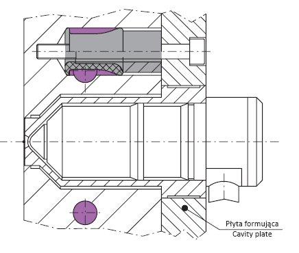 Tulejka rozdzielająca do układu chłodzenia firmy A. Marciniak OT