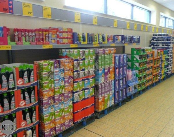 Shelf Ready Packaging, opakowania gotowe na półkę
