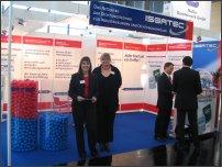 Stoisko ISGATEC GmbH organizatora targów uszczelnień pod tą
