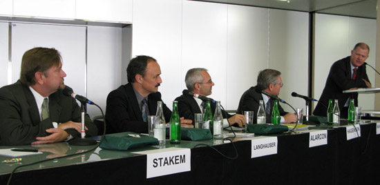 Process technology suppliers Univation, Lummus Novolen, Ineos and Chevron Phillips all made presentations at PEPP 2009
