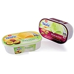 New ice cream packaging with glossy IML label