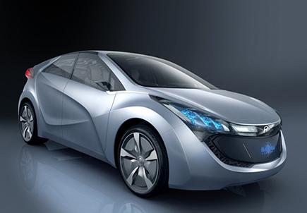 Hyundai Hybrid Blue Will Concept