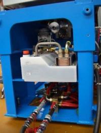 Wtryskarka E-Lion - układ chłodzenia