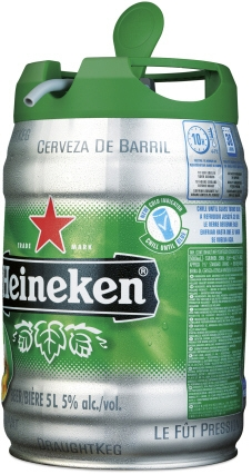 Nowe opakowanie Heinekena - Draught Kegto