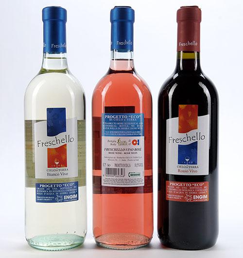Opakowania firmy O-I do wina