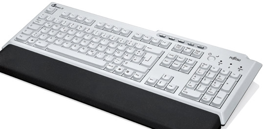 Bio-keyboard - a world first an injection moulded keyboard made from renewable materials.