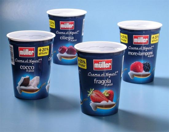 Crema di Yogurt from Müller Milch