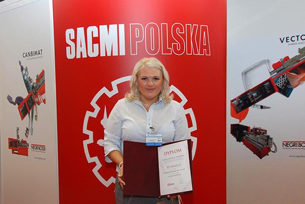 Agnieszka Duława, Sacmi Polska