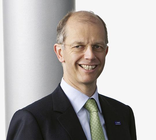 dr Kurt Bock, nowy prezes BASF