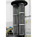 Efektywna filtracja pyłu przy podawaniu granulatu