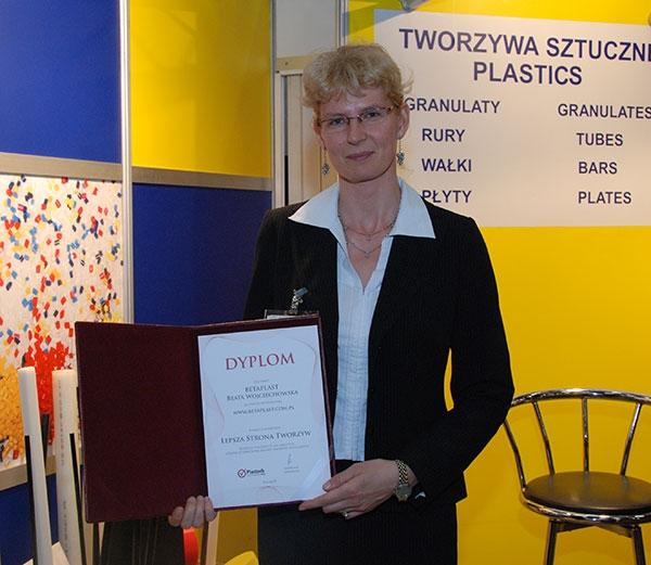 Beata Wojciechowska, Betaplast
