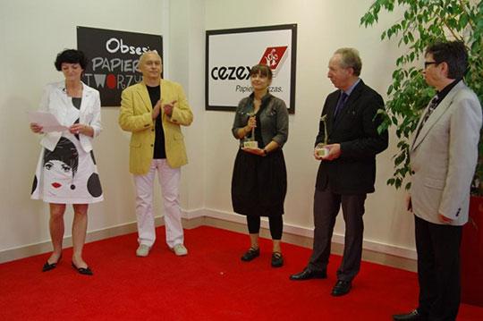 Cezex Konkurs Obsesja papieru, tworzyw