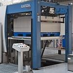 Pierwsza w Polsce maszyna drukarska z podwójnym lakierowaniem