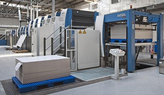 Pierwsza w Polsce maszyna w konfiguracji z podwójnym lakierowaniem