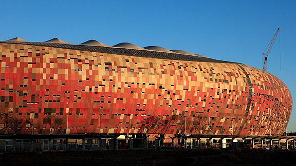 Produkty Lanxess na stadionie w Johannesburgu