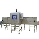 System kontroli rentgenowskiej do wykrywania zanieczyszczeń w płynach