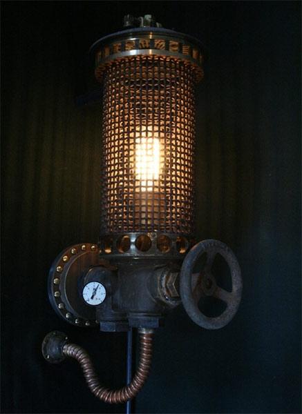 scrap lamp