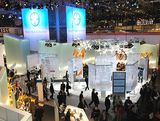 Before the trade fair K 2010 in Düsseldorf