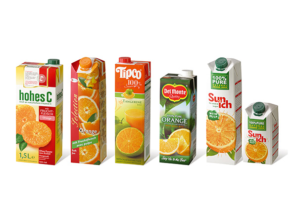 healty drink carton packaging