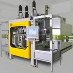 New concept for the clamping unit of the Eblow from Bekum