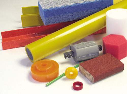 Rebus and Milliken colorants are used in a variety of thermoset foam, coating, elastomer, adhesive and composite applications.