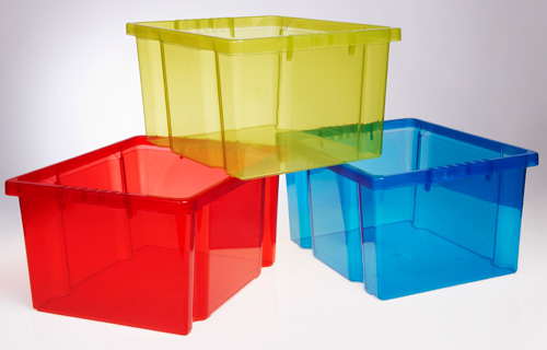 Thumbs Up (Bury) has launched a new line of food and domestic storage containers in coloured polypropylene random copolymer compounds that provide unparalleled clarity. The compounds contain Milliken's ground-breaking Millad NX8000 clarifying agent, used in combination with the company's ClearTint polymeric dyes.