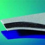 New composite material: plastics and metal