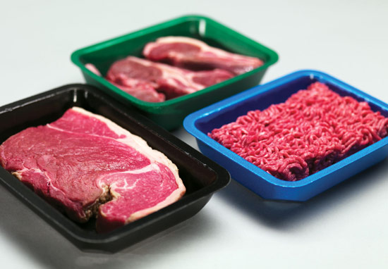 Cut waste and costs with the new meat tray