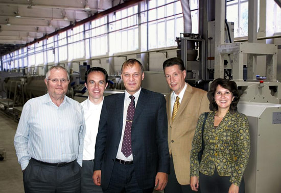 First large high-pressure pipe extrusion line for Russia on order