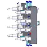 Technika gorących kanałów BlueFlow® do produkcji mikroczęści