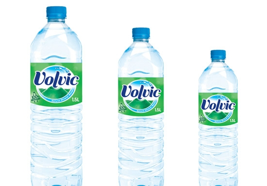 Greener Bottle launched by Volvic