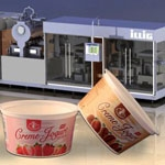 Hygienic packaging of dairy products coupled with brilliant decoration