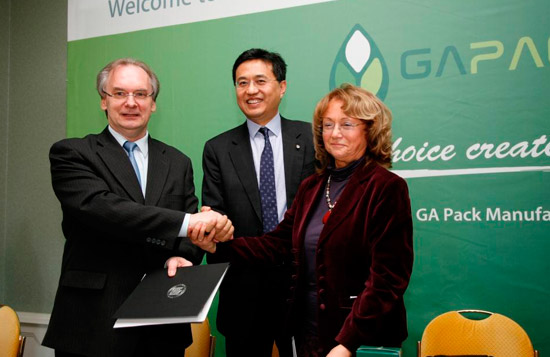 GA Pack to build aseptic-packaging material plant in Germany