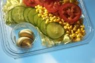 Termoformowane tacki do świeżych warzyw
