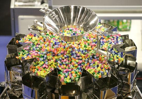 Maszyny dla przemysłu wyrobów cukierniczych na targach interpack