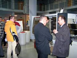 Spotkanie przy wtryskarce  Negri Bossi V110-375
