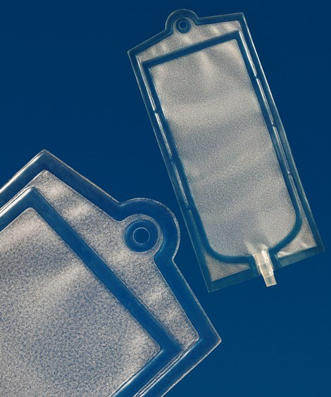 RF welding creates new alternative for medical fluid bags made with elastomers