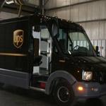UPS's prototype plastic delivery trucks