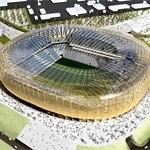 Tworzywa Bayera na stadionie w Gdańsku