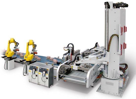 Sidel opracował nowy system niskiej paletyzacji