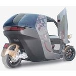 KTM E3W: An eco-friendly plastic bodied electric concept car