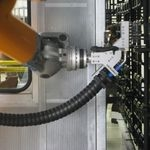 CO2 snow jet system cleans high-gloss plastic parts at VW