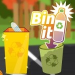 A new game 'Bin It' challenges people to recycle