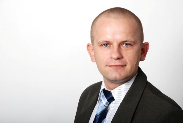 Marcin Tomczyk, inżynier, przedstawiciel firmy Herrmann Ultraschall w Polsce