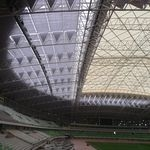 Basotect G+ provides effective sound insulation for stadium roof