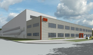 Projekt fabryki 3M we Wrocławiu