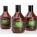 Heritage Family offers sweet pepper glaze in PET container from Amcor