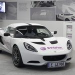 Evonik presents the first-ever electrical sports car with a weight below 1,000 kg